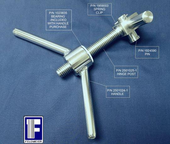 Side manway handle partsf 2